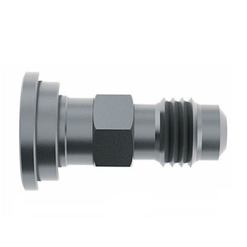 1/4 in. (7/16-20) Male Flare x Beer Stem 303/304 Stainless Steel Beverage Fitting (1)