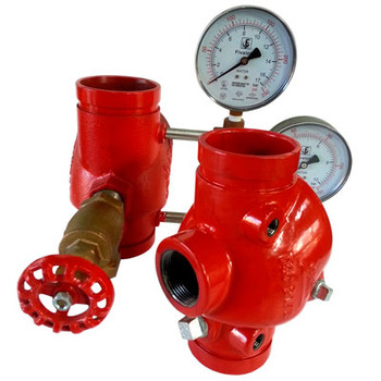 4 in. DGCR Riser Grooved Swing Check Valve 300PSI UL/FM Approved with Trims