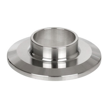 1-1/2 in. 14WMP Short Ferrule (3A) 304 Stainless Steel Sanitary Clamp Fitting
