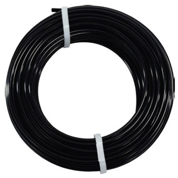 1/4 in. OD Nylon 12 Tubing, 100 Foot Length, Color: Black, Working Pressure: 400