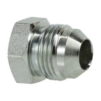 3/8-24 JIC Plug Steel Hydraulic Adapter Fitting
