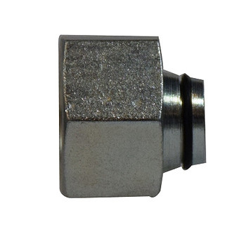 12 mm Heavy Tube Plug, Insert/Nut, DIN 2353 Metric, Steel Hydraulic Adapters Insert and Nut