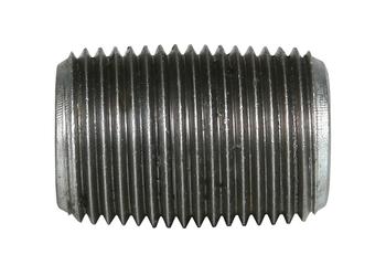 1 in. x CLOSE Galvanized Pipe Nipple Schedule 40 Welded Carbon Steel