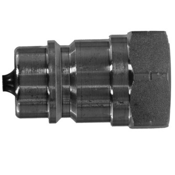1/2 in. ISO-A Female Pipe Plug Quick Disconnect Hydraulic Adapter