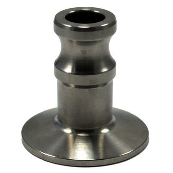 1/2 in. Type A with 1.5 in. Tri-Clamp End, Stainless Steel 304, Camlock by Tri-Clamp
