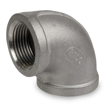 1 in. Stainless Steel Pipe Fitting 90 Degree Elbow 316 SS Threaded NPT