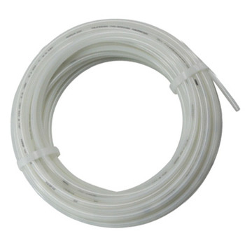 1/2 in. OD Nylon 12 Tubing, 100 Foot Length, Color: Natural