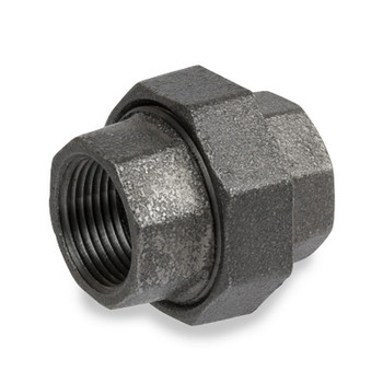 2 in. Pipe Fitting Ductile Iron Union NPT Threaded Class 300 UL/FM
