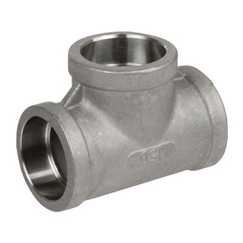 2-1/2 in. Pipe Fitting Stainless Steel Socket Weld Tees 304SS 150 PSI