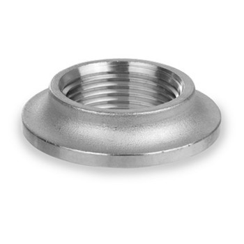 4 in. Pipe Fitting Stainless Steel NPT Threaded Weld Spud, Cast 150# 316SS