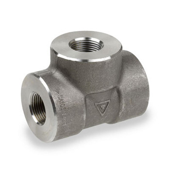1 in. 6000# Pipe Fitting Forged Carbon Steel Tee NPT Threaded