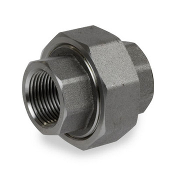 2 in. Pipe Fitting 3000# Forged Carbon Steel Union NPT Threaded