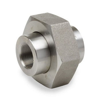 1-1/2 in. Pipe Fitting 6000# Forged Carbon Steel Union NPT Threaded