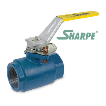 2 in. Ductile Iron 1500 psi Standard Port Threaded Ball Valve - Series SVOP54DN6RV