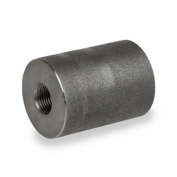 1/2 in. x 3/8 in. 3000# NPT Threaded Reducing Coupling Forged Carbon Steel Pipe Fitting