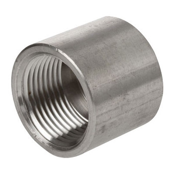 2-1/2 in. 1000# Stainless Steel Pipe Fitting Caps 304 SS NPT Threaded