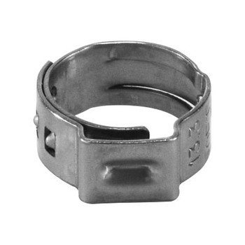 9/32 NOM Gapless Ear Clamp Stainless Steel Hose Clamp