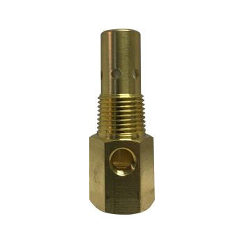 1/2 in. Male NPT x 1/2 in. Tube Compression Male, 450 PSI Brass Compressor Tank Check Valve