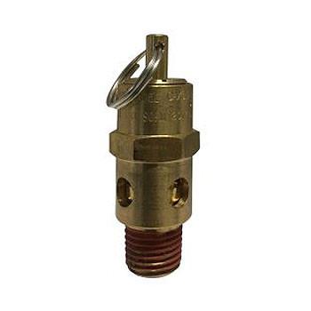 1/4 in. NPT 150 PSI Brass ASME Coded Safety Compressor Valve