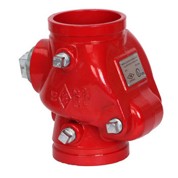 4 in. 300 psi UL/FM Grooved Riser Check Valve Cooplok Fire Protection Series 67CVR