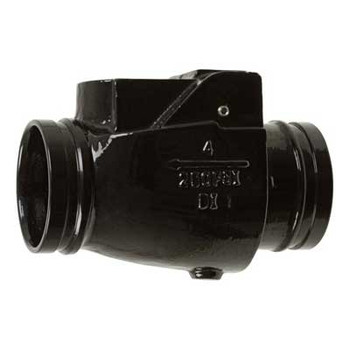 10 in. 300 psi Grooved Swing Check Valve (EPDM Disc) Fire Protection Series 67CVE