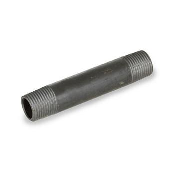 1/2 in. x 4 in. Black Carbon Steel Welded Schedule 40 Left/Right Pipe Nipple