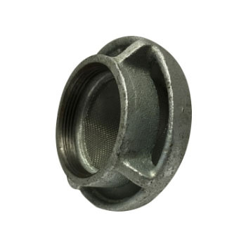1 in. Mushroom Vent Cap, Cast Iron Galvanized Threaded Pipe Fitting Cap