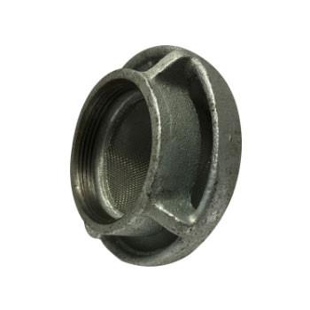 2 in. Mushroom Vent Cap, Cast Iron Galvanized Threaded Pipe Fitting Cap