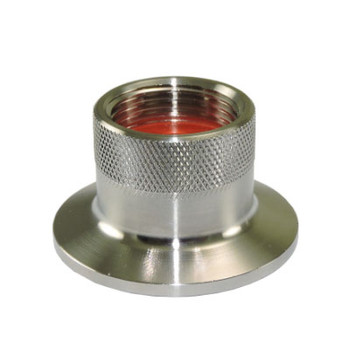 1.5 in. x 3/4 in. Tri-Clamp x Female Garden Hose Thread (TcxFMGHT) Adapter, 304 Stainless Steel Sanitary Fitting