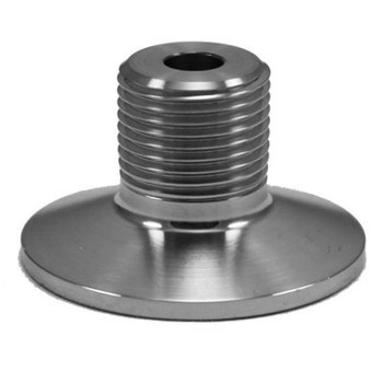 1.5 in. Tri-Clamp x Male Beer Nut Thread 304 Stainless Steel Fitting