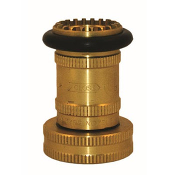 1-1/2 in. NST Brass Fog Nozzle, UL/FM Fire Protection & Sprinkler System
