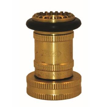 1-1/2 in. NST Brass Fog Nozzle, UL/FM Fire Protection & Sprinkler System