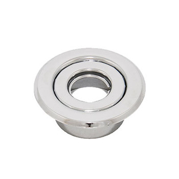 "1/2"" IPS 2-Pc. Recessed Canopy Fire Sprinkler Escutcheons (Cover) Chrome Plated"
