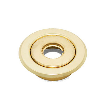 """1/2"""" IPS 2-Pc. Recessed Canopy Fire Sprinkler Escutcheons (Cover) Brass"""