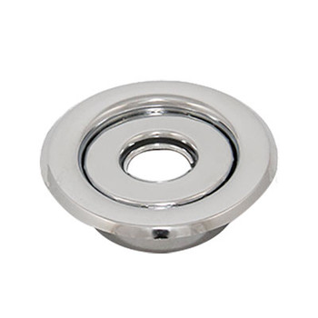 "1/2"" IPS 2-Pc. Recessed Short Skirt Canopy Fire Sprinkler Escutcheons (Cover) Chrome Plated"
