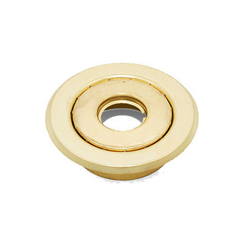 "1/2"" IPS 2-Pc. Recessed Short Skirt Canopy Fire Sprinkler Escutcheons (Cover) Brass"