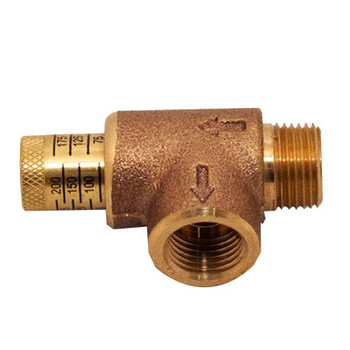 1/2 in. Adjustable Pressure Relief Valves Fire Sprinkler & Protection
