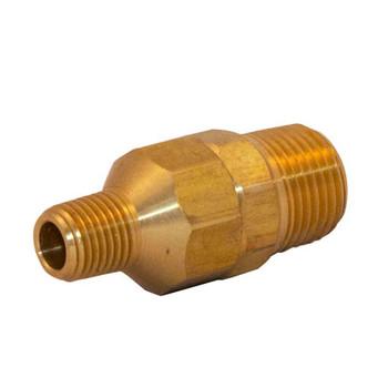1/4 in. NPT x 1/2 in. NPT Brass Ball Drip Valve Fire Sprinkler System & Protection