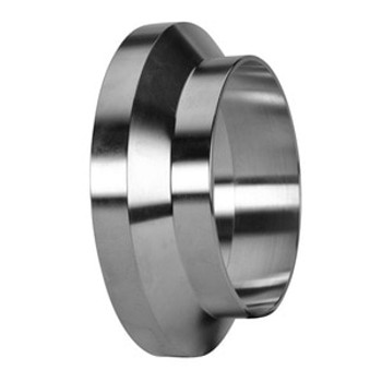 1-1/2 in. Female I-Line Short Weld Ferrule (15WI) 304 Stainless Steel Sanitary I-Line Fittings (3-A) View 1