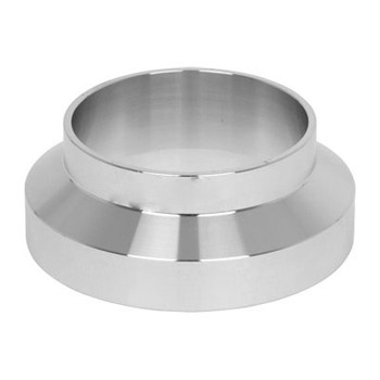 3 in. Female I-Line Short Weld Ferrule 304 Stainless Steel Sanitary Pipe Fitting View 2