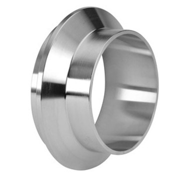 1-1/2 in. Male I-Line Short Weld Ferrule  (14WI) 304 Stainless Steel Sanitary I-Line Fittings (3-A) View 1