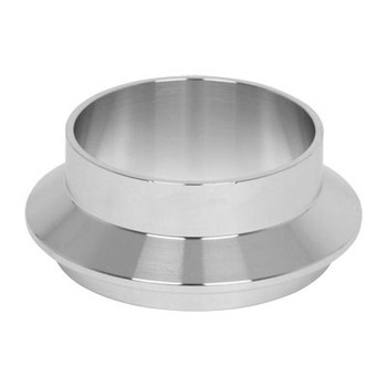 2 in. Male I-Line Short Weld Ferrule  (14WI) 304 Stainless Steel Sanitary I-Line Fittings (3-A) View 2