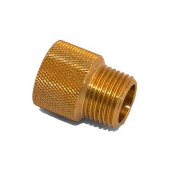 3/4 in. x 1/2 in. IPS Brass Sprinkler System Extension Nipples
