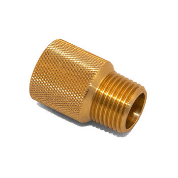 1 in. x 1/2 in. IPS Brass Sprinkler System Extension Nipples