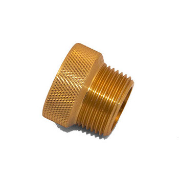 1/2 in. x 3/4 in. IPS Brass Sprinkler System Extension Nipples