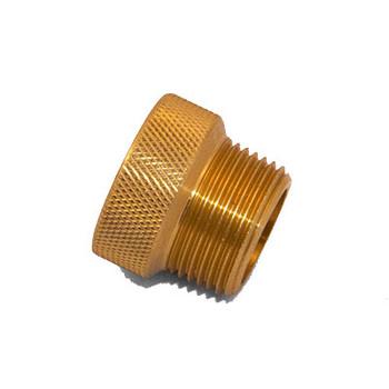 1/2 in. x 3/4 in. IPS Brass Sprinkler System Extension Nipples