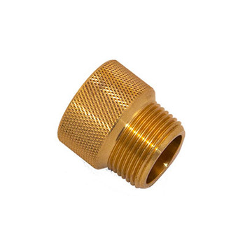 3/4 in. x 3/4 in. IPS Brass Sprinkler System Extension Nipples