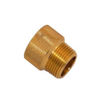 3/4 in. x 3/4 in. IPS Brass Sprinkler System Extension Nipples