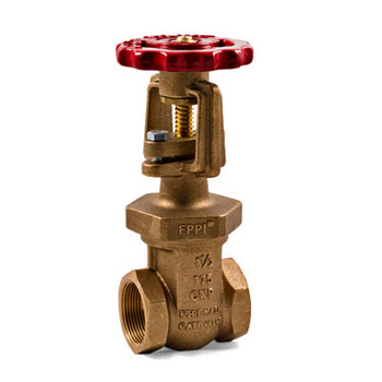 1-1/2 in. NPT Bronze TrimFit® OS&Y Fire Main Gate Valves, 175CWP, UL/FM