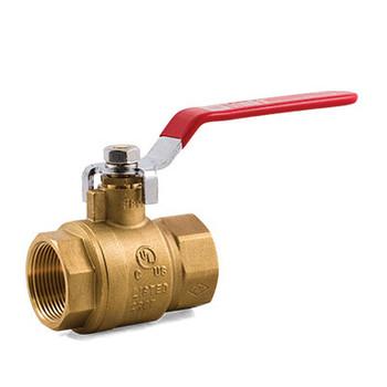 1 in. IPS TrimFit® Brass Ball Valve (FNPT x FNPT) UL/ULc/FM Fire Sprinkler Products
